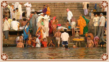 Holy Dip in Ganges, Varanasi